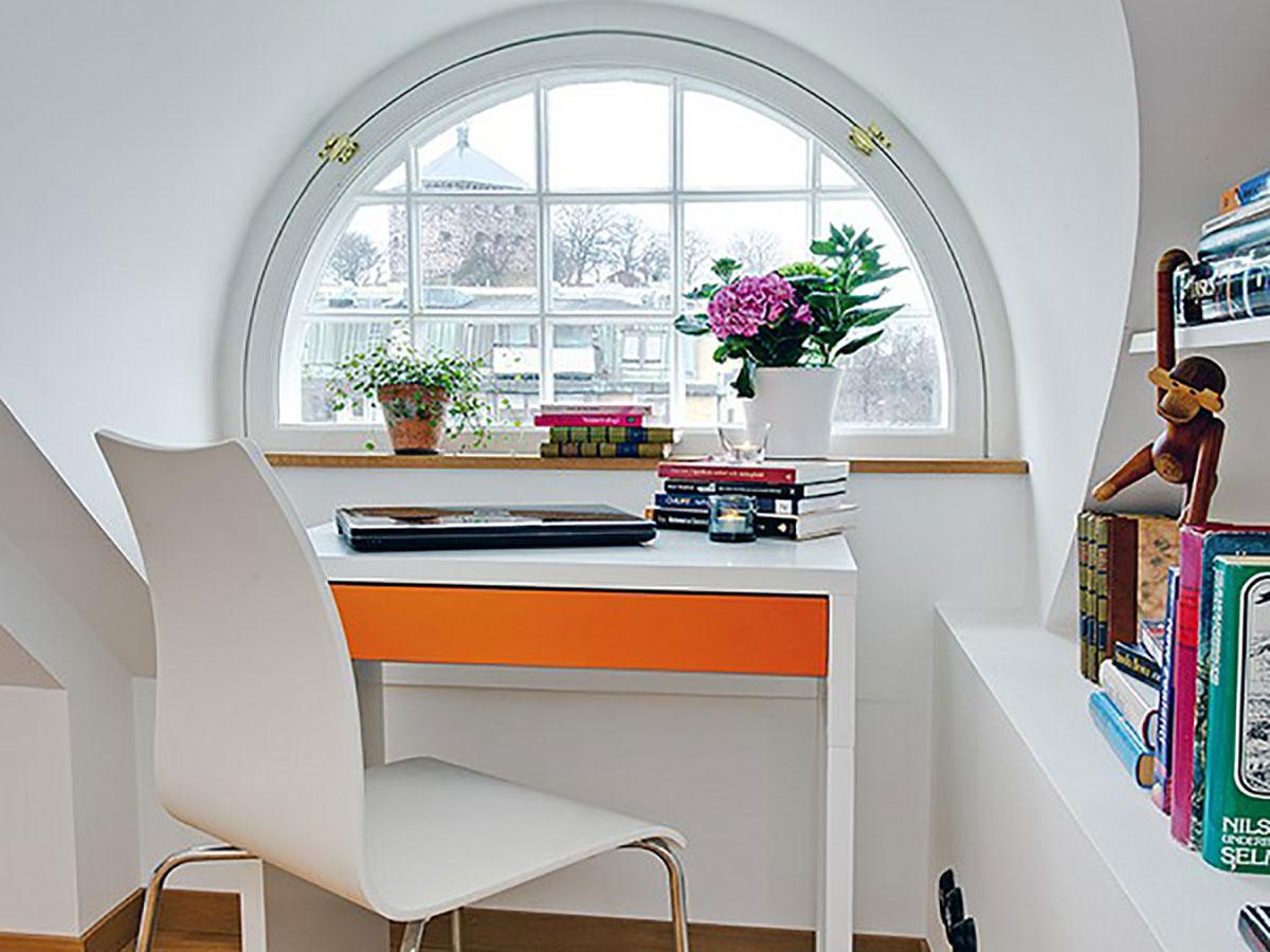 Modern Attic Apartment Design