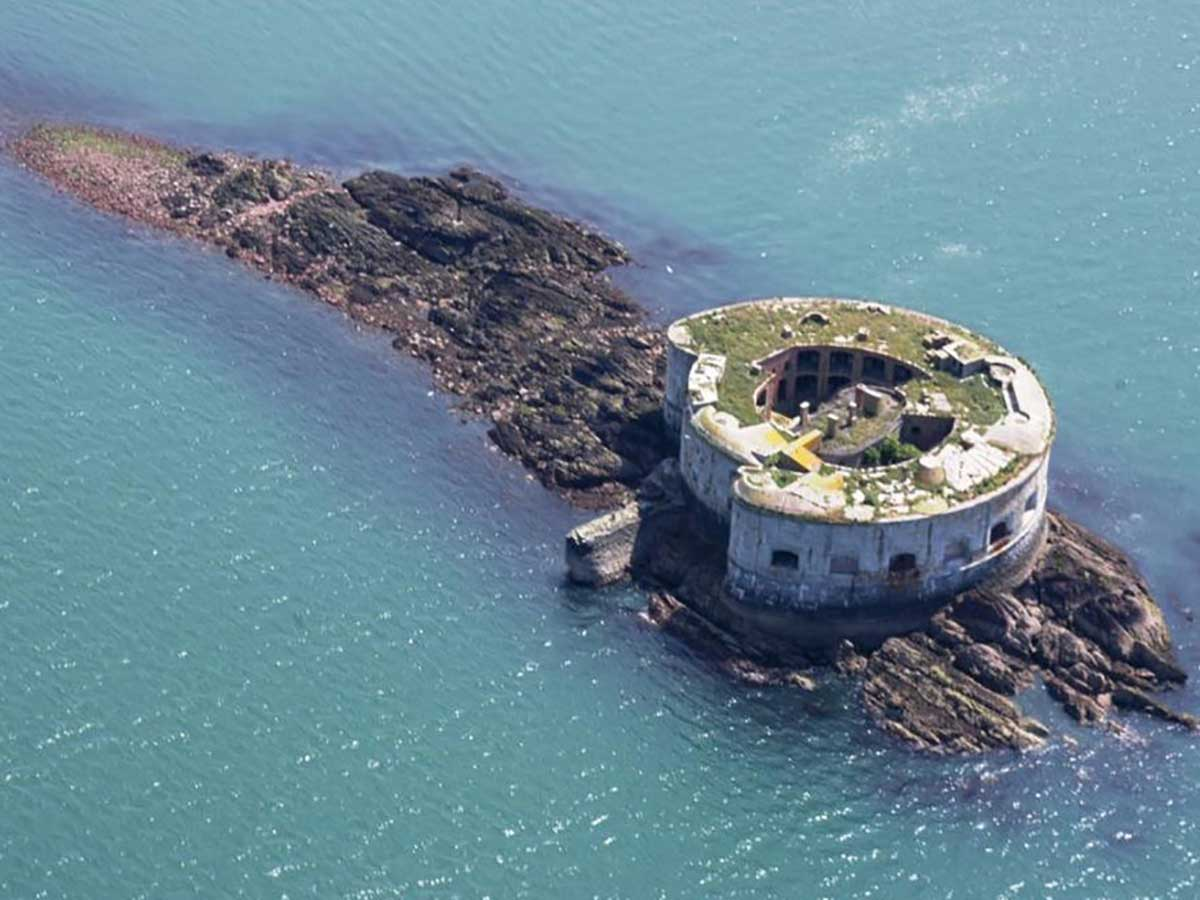 British Island Fort Up for Sale Needs Work Before Move in Day