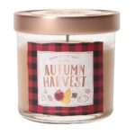 Small Lidded Jar Candle Autumn Harvest