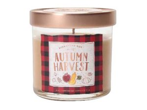 Small Lidded Jar Candle Autumn Harvest