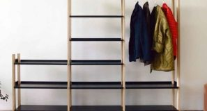 Freestanding Shelves Don't Get More Convenient Than This Shelving System