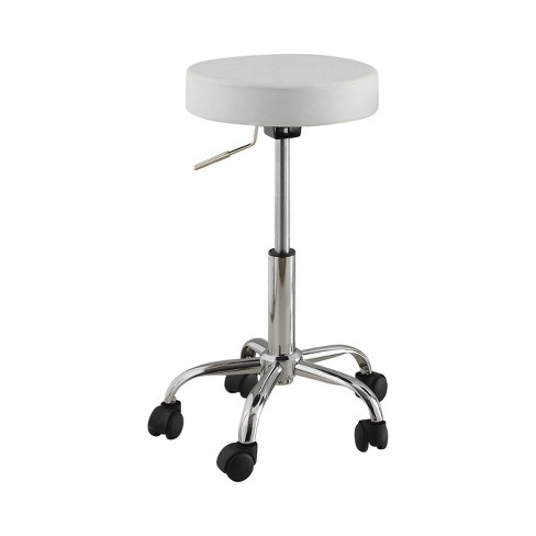Sutton Adjustable Upholstered Swivel Bar Stool